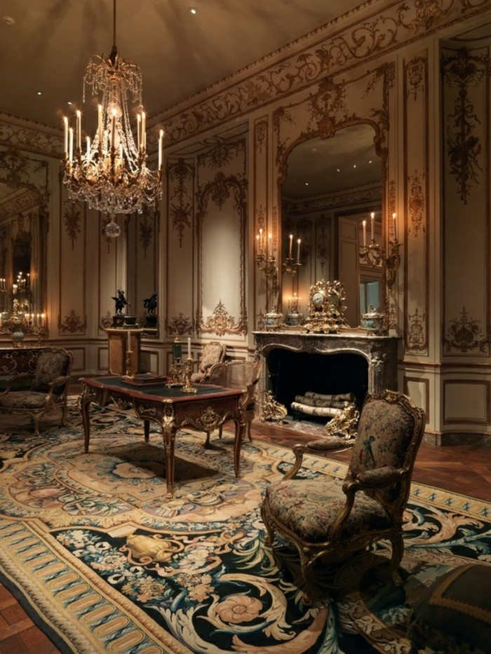Amenagement Interieur Meuble Cuisine La Chambre Style Baroque - Nos Propositions En Photos!