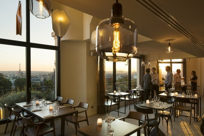 Bar Terrasse Toit Paris Les Toits De Paris - 40 Images Exclusives! - Archzine.fr
