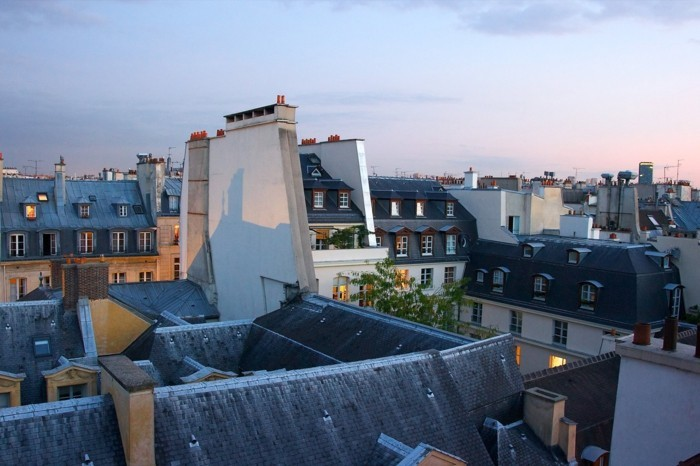 Toit Terrasse Hotel Paris Les Toits De Paris - 40 Images Exclusives! - Archzine.fr