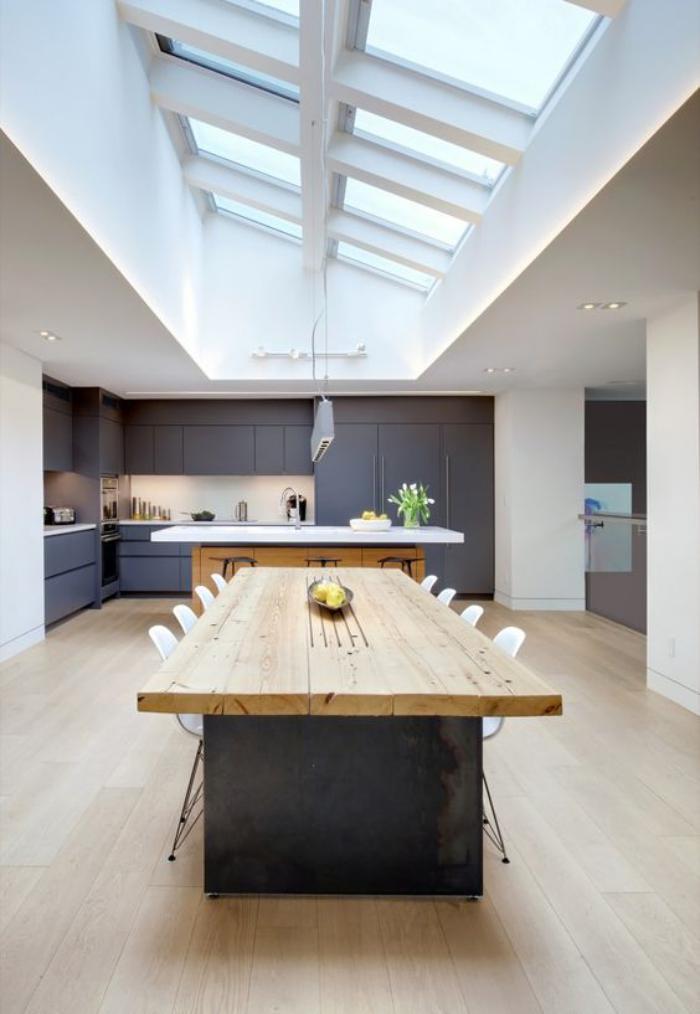 Plan Maison Avec Mezzanine Ouverte Sur Salon