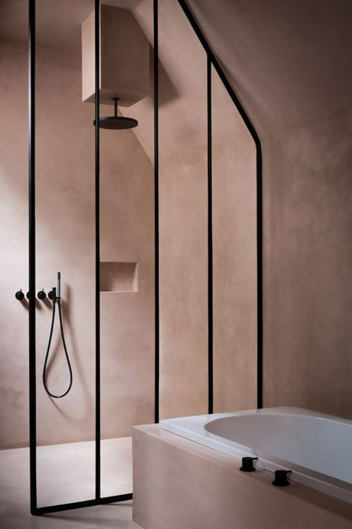 Creating Bathrooms with Texture + Contrast (The Design Chaser