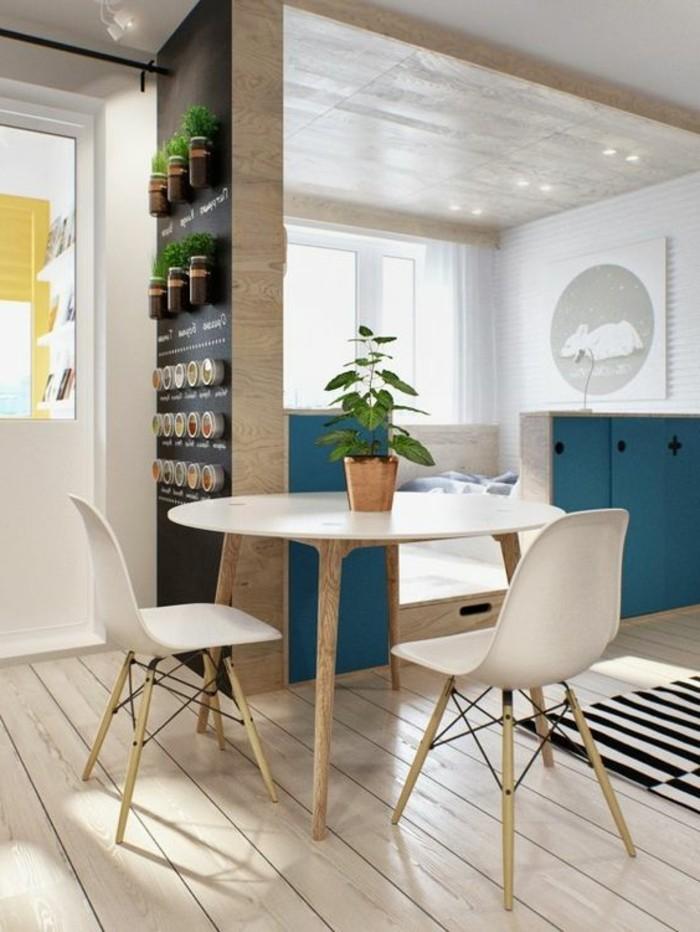 Idee Deco Studio M. idee deco photo trendy couloir etroit ...