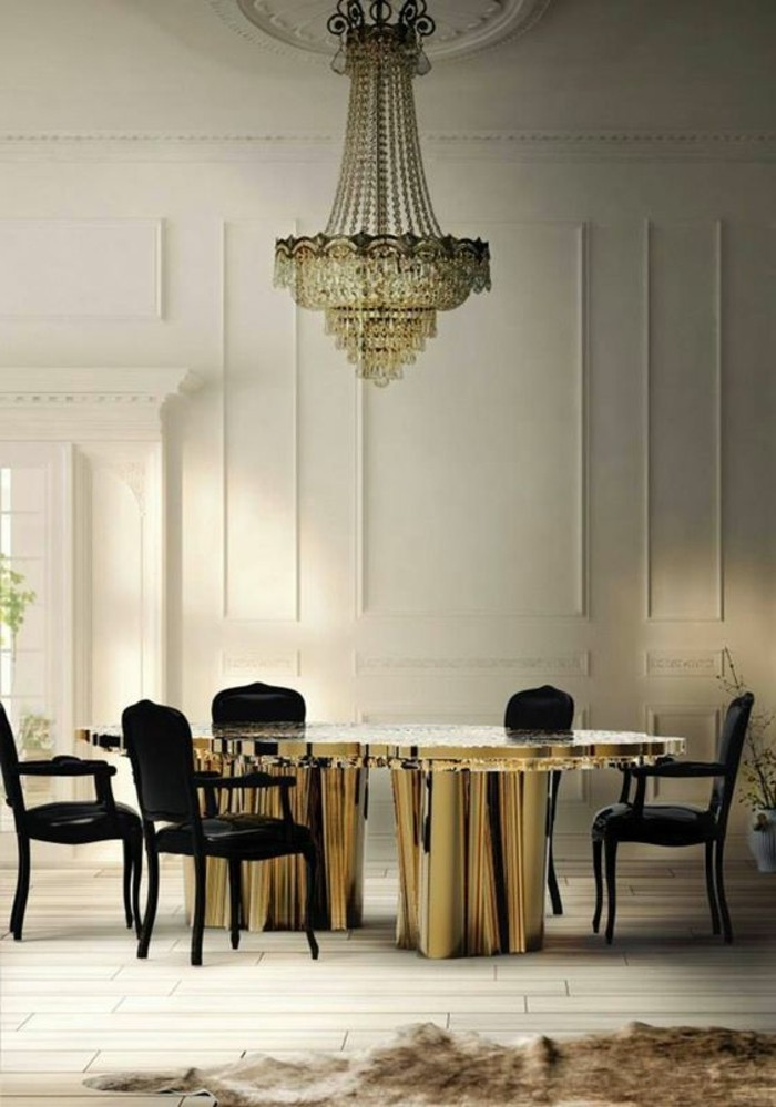 Chaises Contemporaine La Plus Originale Table De Cuisine Ronde En 56 Photos!