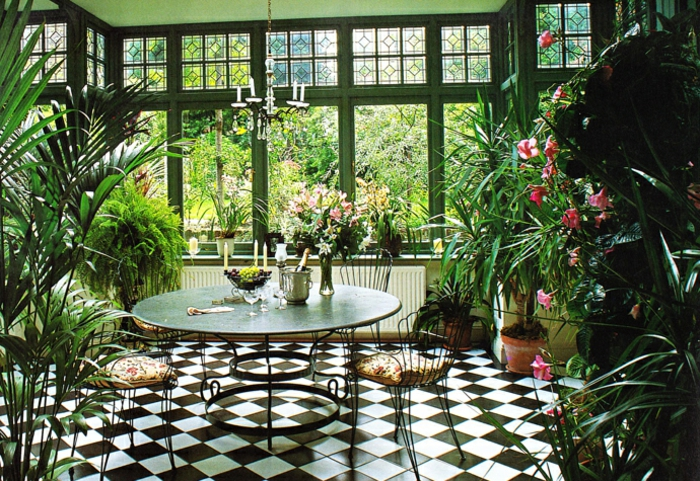 Deco Jardin Hiver