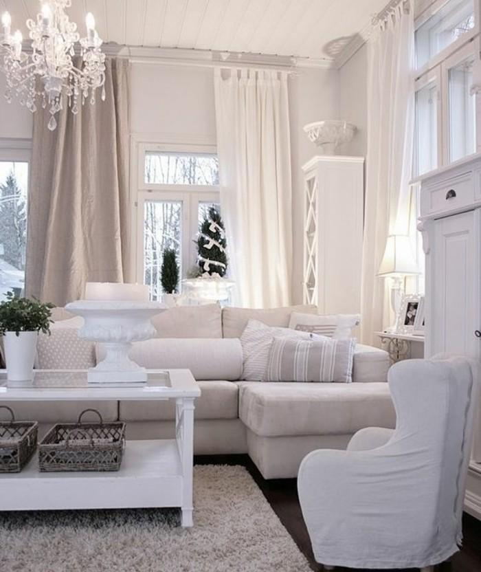 Decoration Salon Blanc Beige Taupe | Deco Salon Beige Et Taupe ...