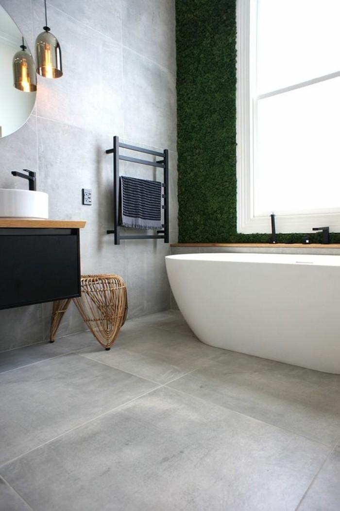 Badezimmer Holzfliesen Optik