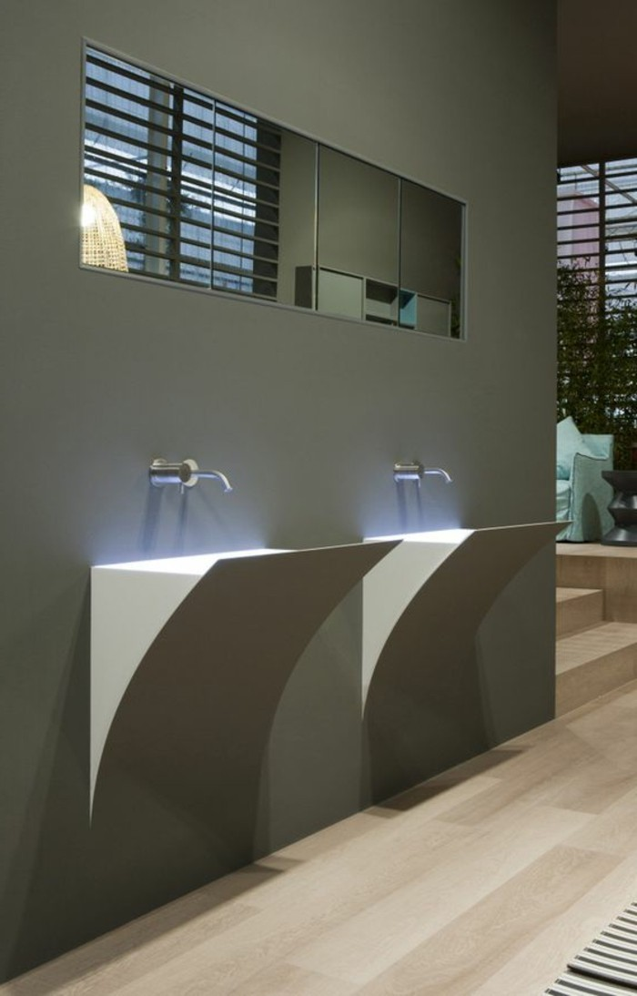Mitigeur Vasque Le Lavabo Colonne En 81 Photos Inspirantes