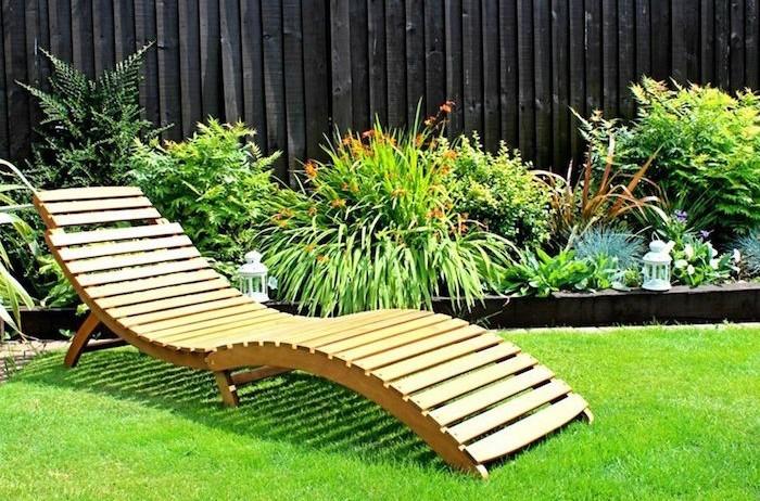 Transat En Bois | Transat Jardin – 43 Idées Pour Un Bain De Soleil ...