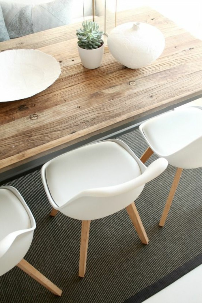 Chaises Scandinaves Couleur La Chaise De Cuisine Moderne En 62 Photos Inspirantes