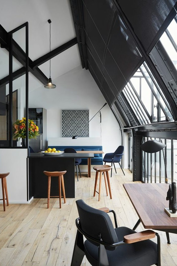 Appartement Interieur Design La Chaise De Cuisine Moderne En 62 Photos Inspirantes