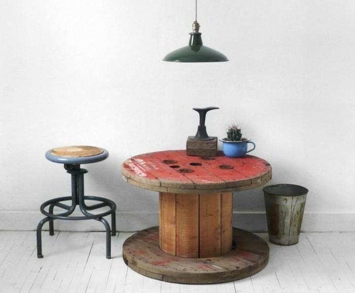 Salon De Jardin Touret   Que Faire Avec Un Touret Faire Une Table ...