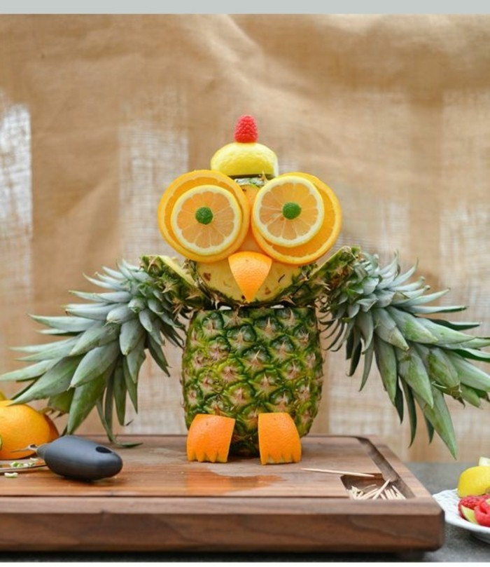 Decoration De Legume Et Fruit Décoration Avec Des Fruits Gd34 | Jornalagora