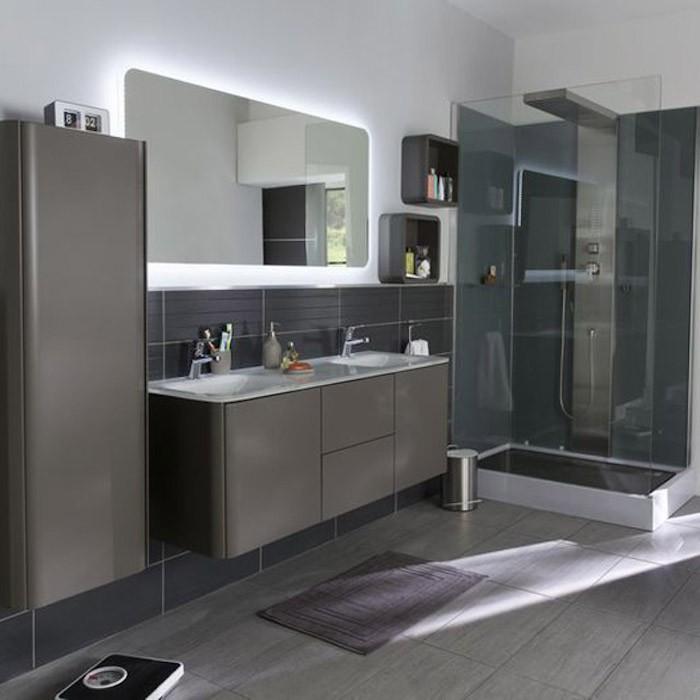 Castorama Meuble Miroir Salle De Bain | Carreau Ciment Adhesif ...