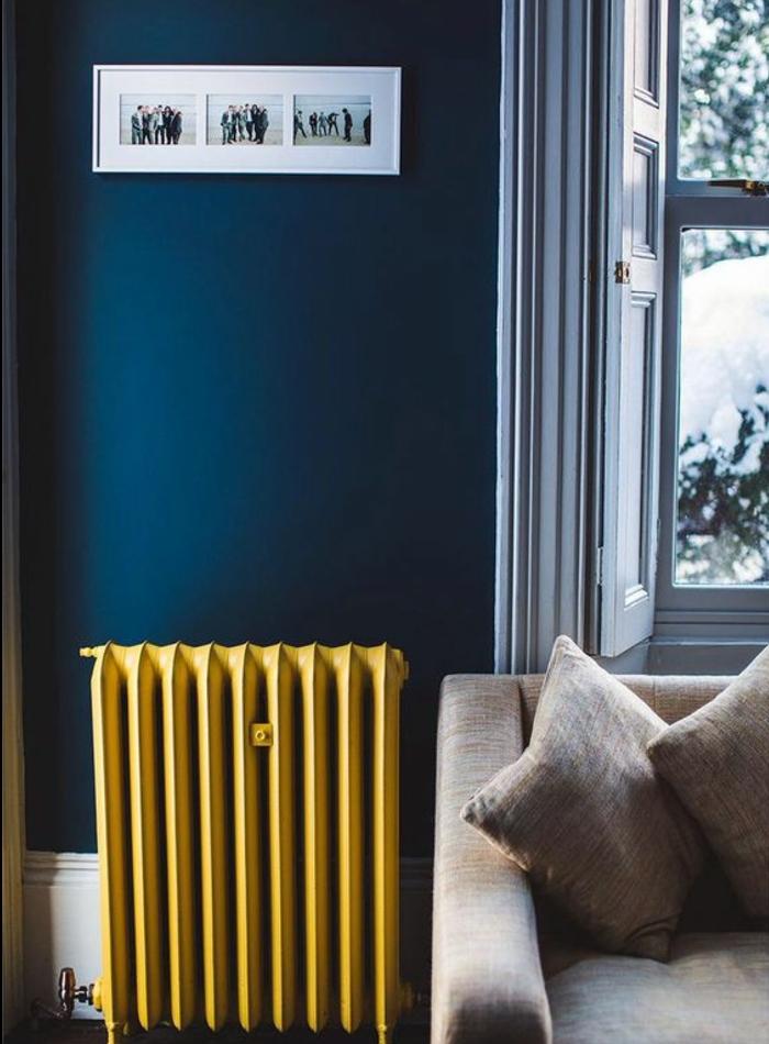 Tapis Salon Bleu Canard | Canapé Vert Dans Le Salon Contemporain Et ...