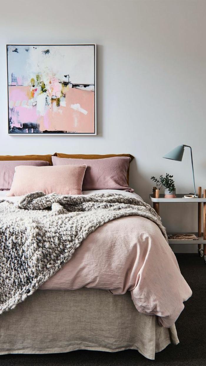 Chambre Rose Et Gris | Deco Chambre Rose Poudr Et Gris Nouveau ...