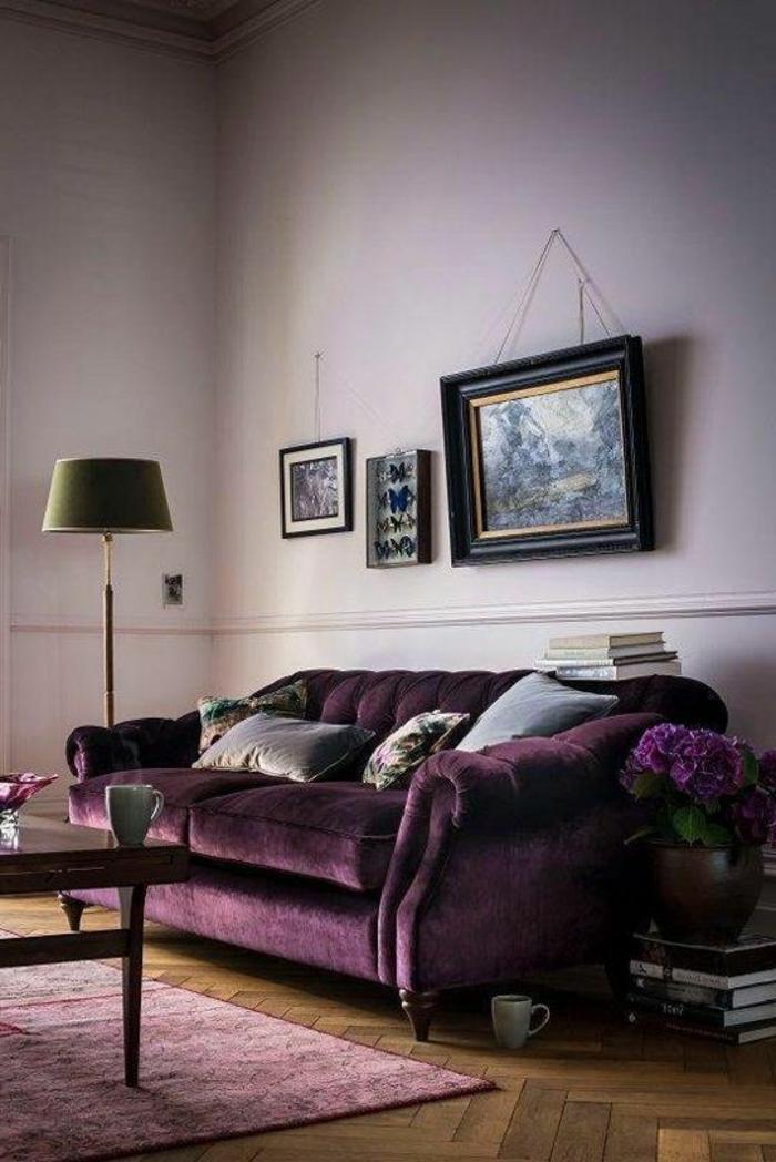 Tapis Salon Violet | Papier Peint Original : La Nouvelle Génération ...