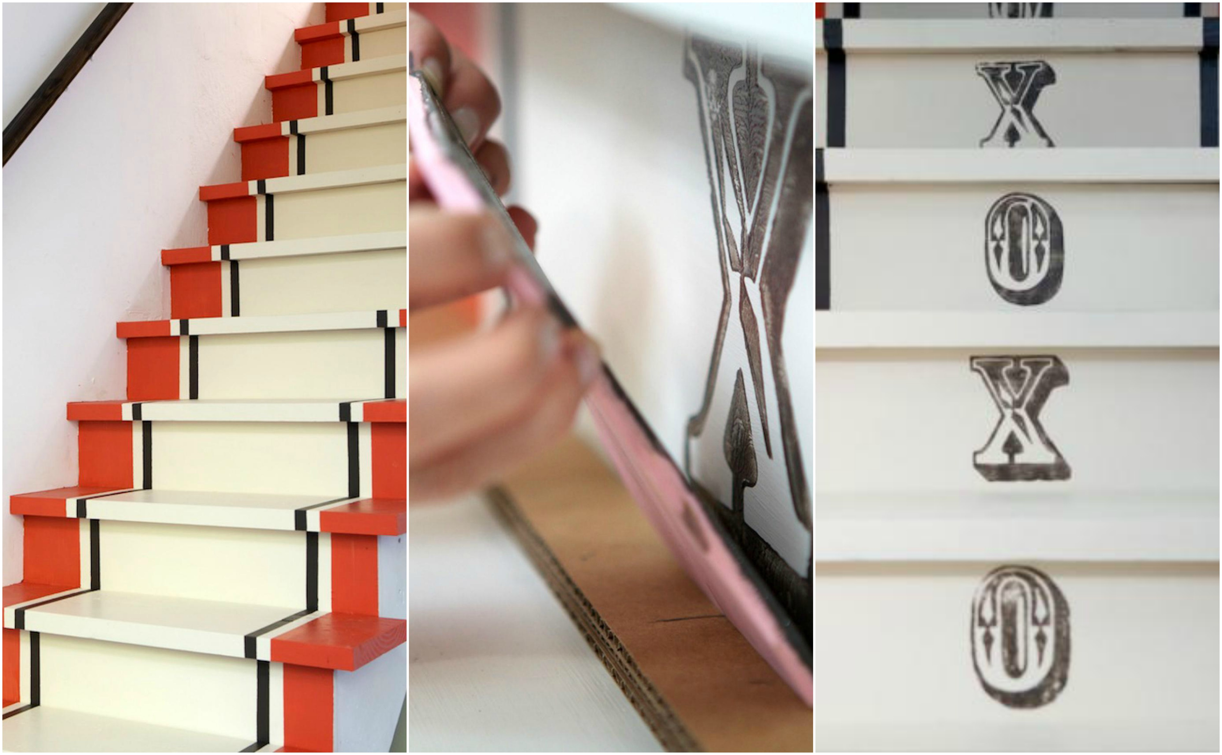 Rajeunir Un Escalier En Bois | Rénovation Escalier Et Idées De ...