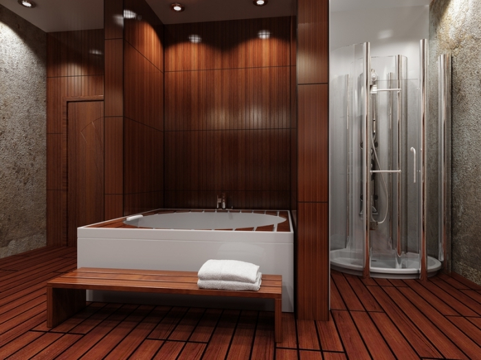 Meuble Serviette | Décoration Toilettes élégante Et Moderne