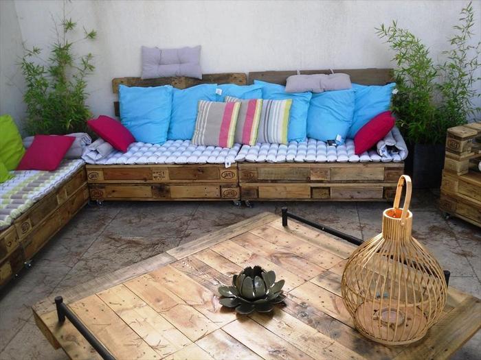 Terrasse Exterieur En Palette | Diy #03 Faire Une Terrasse En Palettes