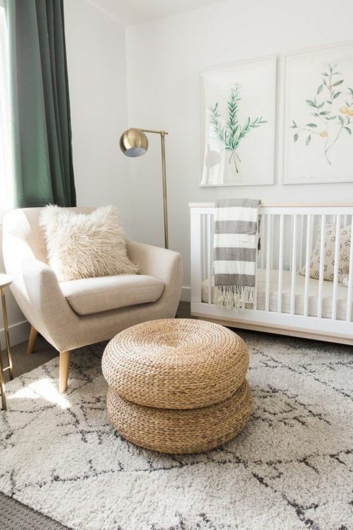 Idee Deco Chambre Bebe Fille Rose Et Gris