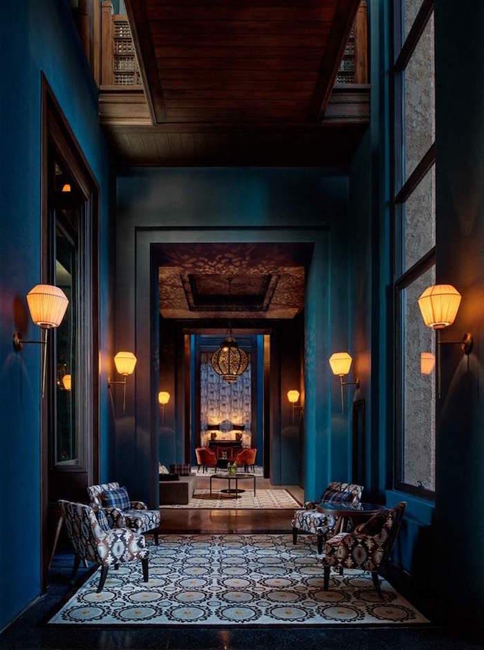 Mur Bleu Petrole | Panneau Acoustique Décoratif En 30 Designs Mur Et ...