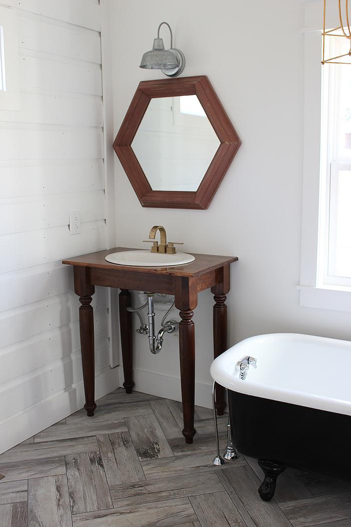 Meuble De Toilette Ancien Vasque