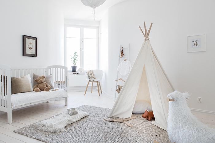 Pinterest Girls Kids Rooms With Wood Wallpaper 1001 Id 233 Es Chambre B 233 B 233 Scandinave Le Blanc De L