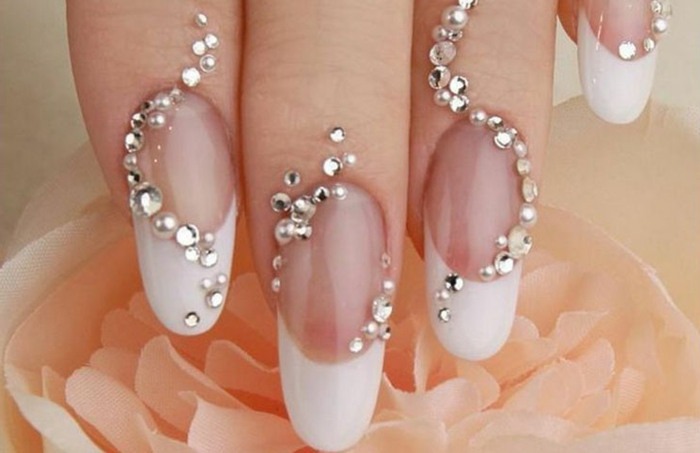 Decoration Ongle Nail Art 1001 + Versions De La Manucure Mariage Moderne