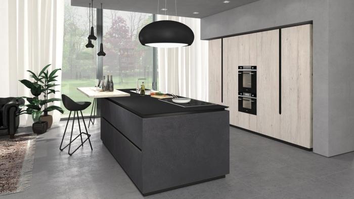 ▷ 1001 + variantes de la cuisine avec îlot central moderne et stylée - Cuisine Moderne Avec Ilot