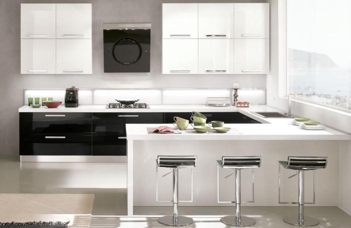 Cuisine En U Avec Ilot. amenagement cuisine en u cuisine en ilot ...