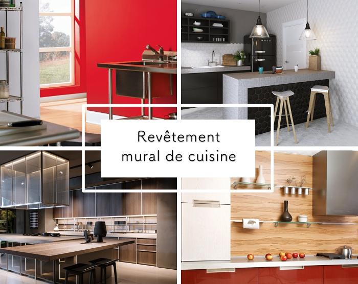 ... 1001 + Alternative Pour Un Revêtement Mural De Cuisine Fantastique ...