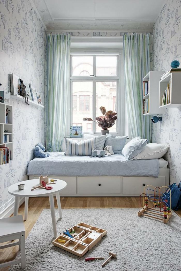 Chambre Bébé Style Scandinave | La Couleur Investit La Décoration ...
