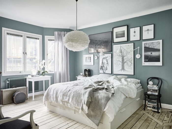 Peinture Chambre Vert Et Gris. vert gris 23 façons de l\\u0027adopter ...