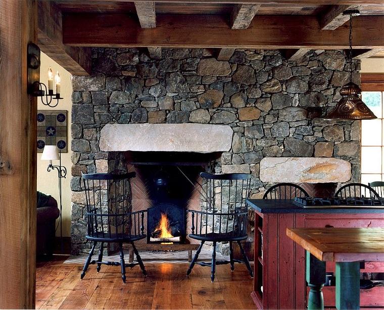 Camino In Pietra Rustico : Casa che tipo di legno usi per una mensola rustica su un camino