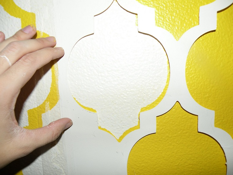 Top projetos with stencil murali - Stencil per pareti ikea ...