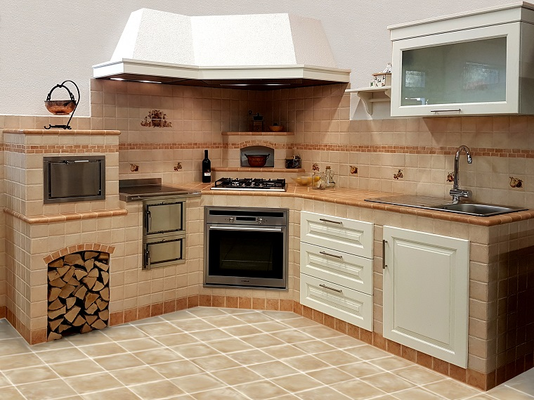 Cucina A Legna Con Cappa   Electro Biokalor: Caldaie A Legna E ...