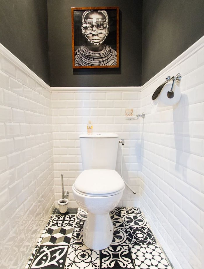 Idees Deco Toilettes | Idée Déco Toilette Moderne, Classique ...