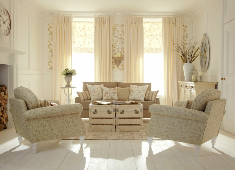 Awesome Soggiorni Shabby Chic Pictures - House Interior - kurdistant ...