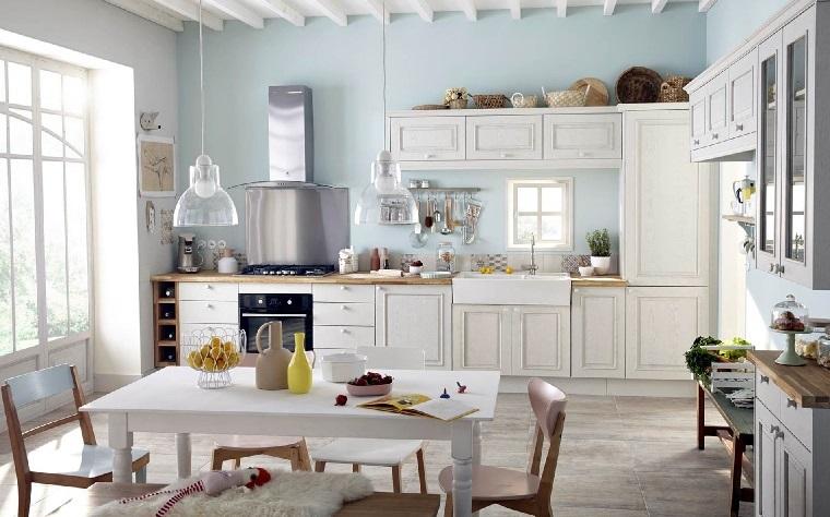 Idee Arredamento Soggiorno Shabby Chic   Cucine Mercatone Uno Foto E ...
