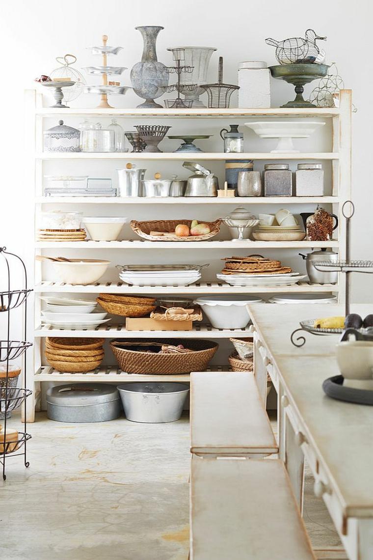 Accessori Cucina Shabby On Line | Tende Cucina Shabby