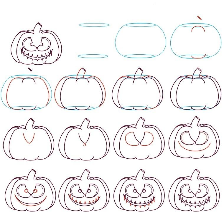 1001 Idee Per Zucche Di Halloween Per Decorare La Casa