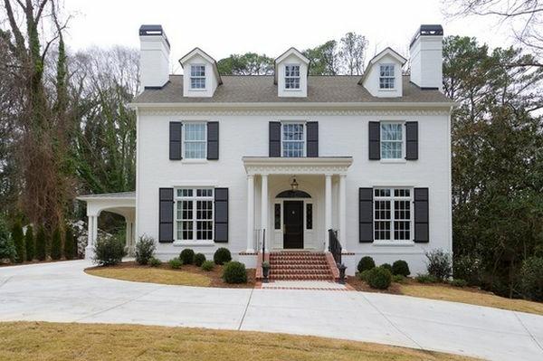 Weiß als die beste Fassadenfarbe für Ihr Zuhause - Archzinenet - fassadenfarbe haus