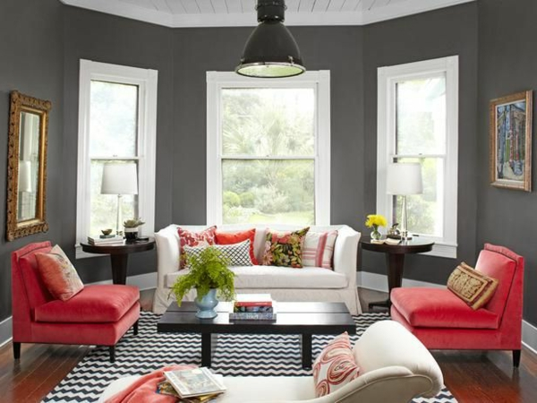 Wohnzimmer streichen - 106 inspirierende Ideen - Archzinenet