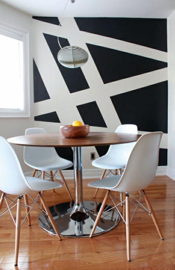 62 kreative Wände streichen Ideen - interessante Techniken - zimmer malen ideen