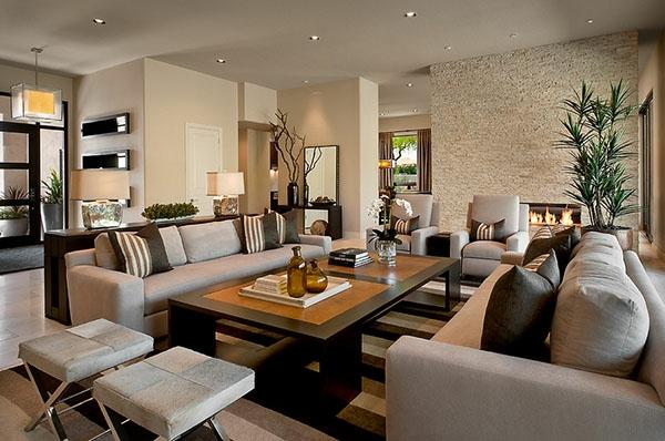 Wie ein modernes Wohnzimmer aussieht - 135 innovative Designer - groses wohnzimmer einrichten