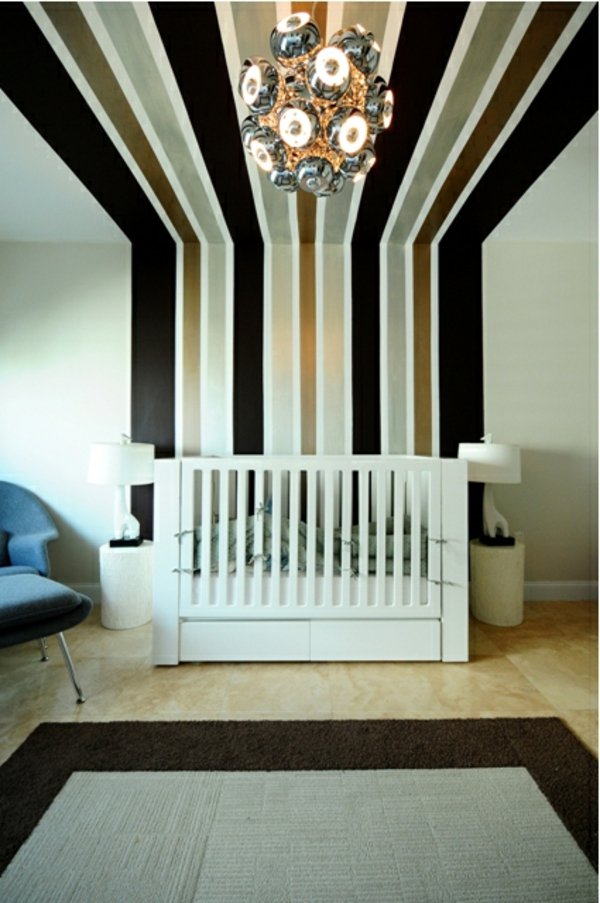 wand-streichen-idee-schwarze-linienjpg (600×903) zimmer Pinterest - ideen für schlafzimmer streichen