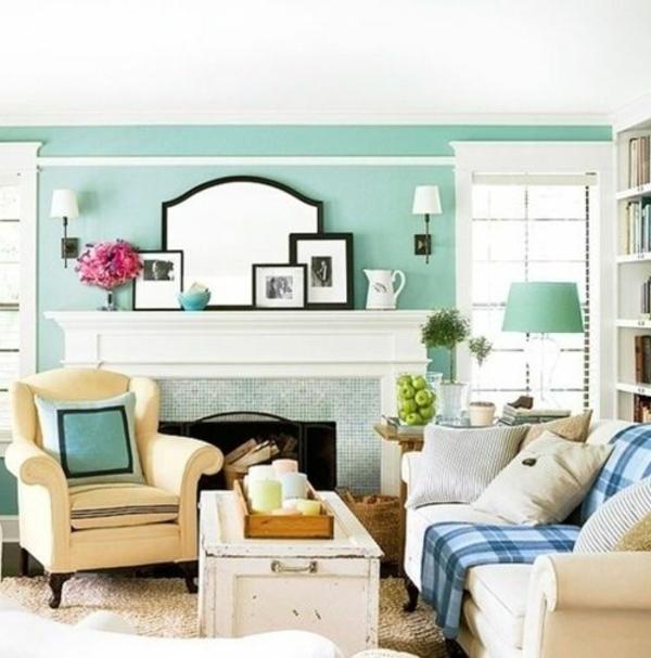 Wohnzimmer streichen - 106 inspirierende Ideen - Archzinenet - groses wohnzimmer einrichten