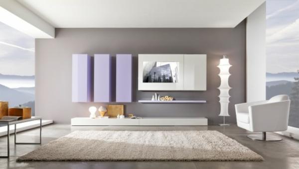 Wohnzimmer streichen - 106 inspirierende Ideen - Archzinenet - wohnideen wohnzimmer modern