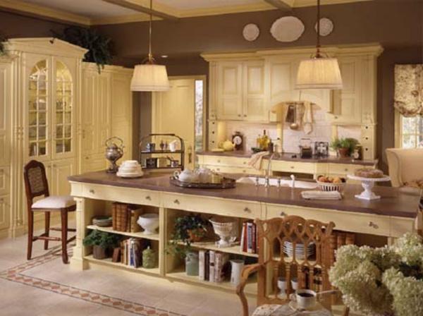 Die Wohnung im Landhausstil einrichten - 30 super Ideen - Archzinenet - esszimmer im landhausstil