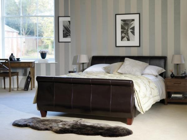 linien-an-der-wand-schlafzimmerjpg (600×450) Einrichtung - tapete für schlafzimmer